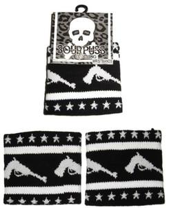 Sourpuss - Pistols and Stars Knit Sweatband