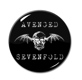 "Avenged Sevenfold - Logo 1"" Pin"