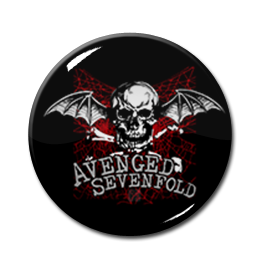 "Avenged Sevenfold - Cobweb 1"" Pin"