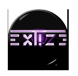 "Extize - Pink Logo 1"" Pin"
