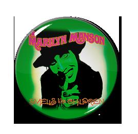 """Marilyn Manson - Smells Like Children 1"""" Pin"""
