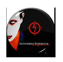 "Marilyn Manson - Antichrist Superstar 1"" Pin"