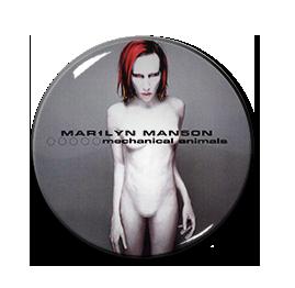 "Marilyn Manson - Mechanical Animals 1"" Pin"