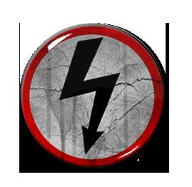 """Marilyn Manson - Bolt 1"""" Pin"""