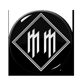 "Marilyn Manson - M M 1"" Pin"