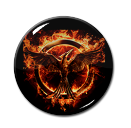 "Hunger Games - Mockingjay 1"" Pin"