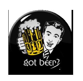 "Got Beer 1.5"" Pin"