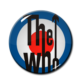 "The Who 1"" Pin"