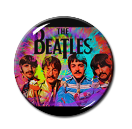 "The Beatles - St. Pepper's Lonely Heart Club 1"" Pin"