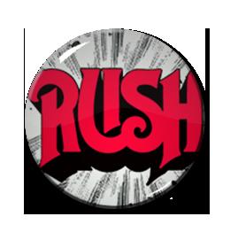 "Rush - Logo 1"" Pin"