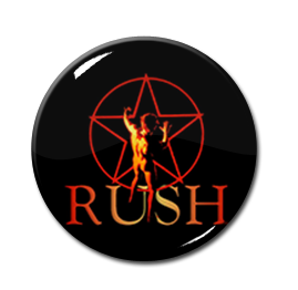 "Rush - Closer to the Heart 1"" Pin"