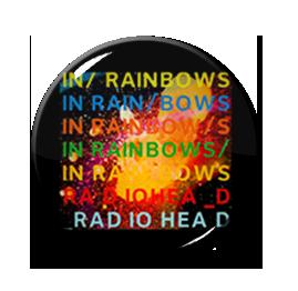 "Radiohead - In Rainbows 1"" Pin"