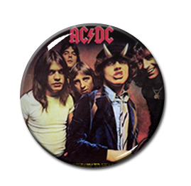 "AC/DC - Highway to Hell 1"" Pin"