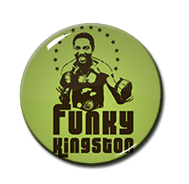 "Funky Kingston 1"" Pin"