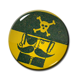 "Treasure Isle Records 1"" Pin"