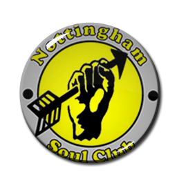 "Nottingham Soul Club 1"" Pin"