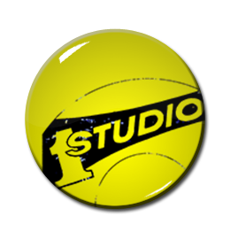 "Studio One 1"" Pin"