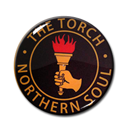 "Northern Soul - The Torch 1"" Pin"
