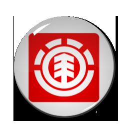 """Element - Logo 1"""" Pin"""