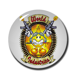 "World Industries - Flameboy 1"" Pin"