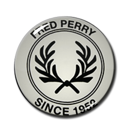 """Fred Perry - Since 1952 1"""" Pin"""