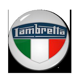 """Lambretta Badge 1"""" Pin"""