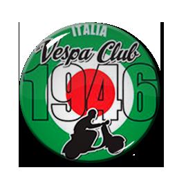 "Vespa Club 1"" Pin"