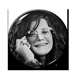 "Janis Joplin 1.5"" Pin"