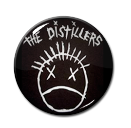 "The Distillers - Logo 1.5"" Pin"