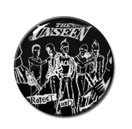 "The Unseen - Protect and Serve 1.5"" Pin"