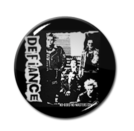 "Defiance - Pic 1.5"" Pin"