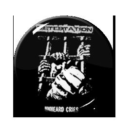 """Detestation - Unheard Cries 1.5"""" Pin"""