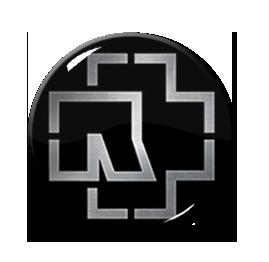 "Rammstein - Logo 1.5"" Pin"