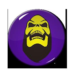 "He-Man Skeletor Grin1.5"" Pin"