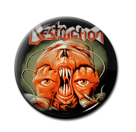 "Destruction - Release From Agony 1"" Pin"