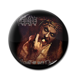 "Deicide - Scars Of The Crucifix 1"" Pin"