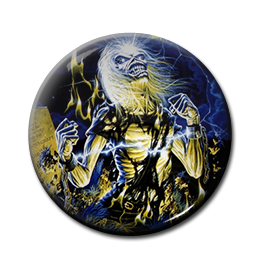 "Iron Maiden - Life after Death 1"" Pin"
