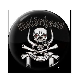 """Motorhead - March or Die 1"""" Pin"""