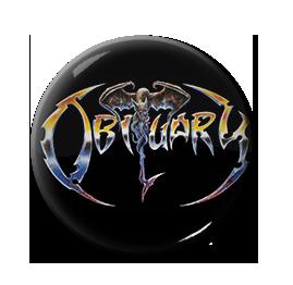 """Obituary - Logo 1"""" Pin"""