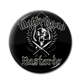 "Motorhead - Bastards 1"" Pin"