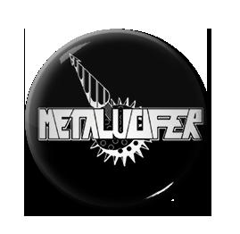 """Metalucifer - Logo 1"""" Pin"""