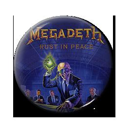 "Megadeth - Rust in Peace 1"" Pin"