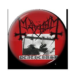 """Mayhem - Deathcrush 1"""" Pin"""