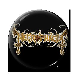 "Necrophagia - Logo 1"" Pin"