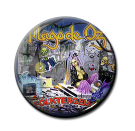 """Mago de Oz - Folktergeist 1"""" Pin"""