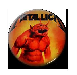 """Metallica - Jump In The Fire 1"""" Pin"""