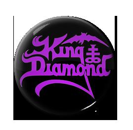 """King Diamond - Logo 1"""" Pin"""