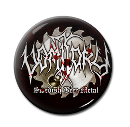 "Vomitory - Swedish Black Metal 1"" Pin"