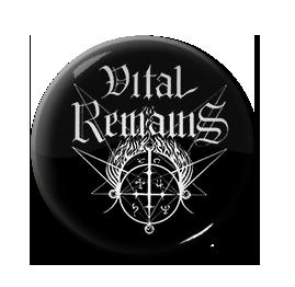 """Vital Remains - Logo 1"""" Pin"""