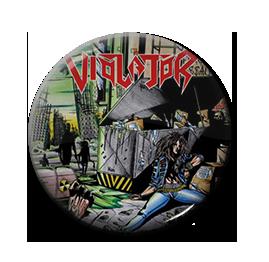 "Violator - Chemical Assault 1"" Pin"